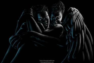 Hugging my Angel by ChinSung