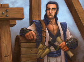 L5R: Kaiu Kawachi by LeeSmith