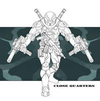 Future Military - Close Quarters Specialist by LeeSmith