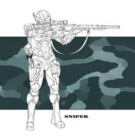 Future Military - Sniper by LeeSmith