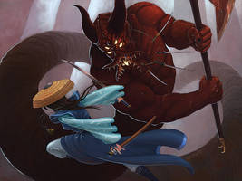 L5R: A Magistrate Falls by LeeSmith
