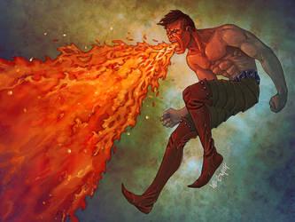 Animus: Pyrokinetic Breathing by LeeSmith