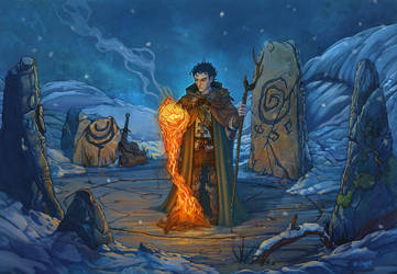 Dungeons and Dragons: Control Flames by LeeSmith