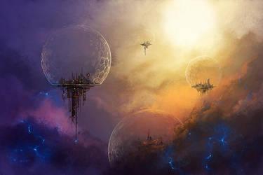 Numenera: Into the Night - Urvanas by LeeSmith