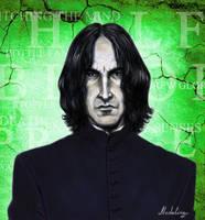 Professor Severus Snape by MadelineSlytherin