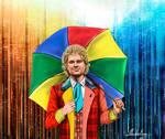 Sixth Doctor (Star rain) by MadelineSlytherin