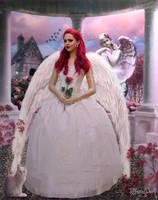 Angel rose by tiffanydark