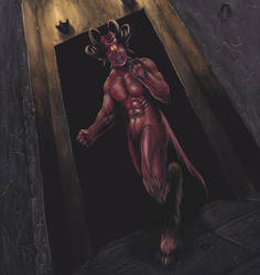 Heavy Metal Demon by malverro