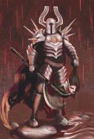 Heavy Metal Chaos Knight by malverro
