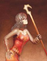 Fire Wizard by malverro