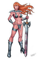 Red Sonja by malverro