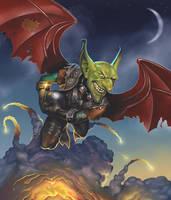 The Flying Goblin Strikes Back by malverro