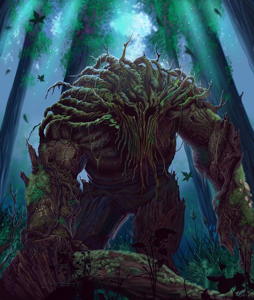 Treefolk by malverro