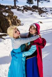 Anna and Elsa - Frozen 3 by MelodyxNya