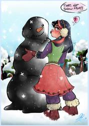 Build A Snow Man ~ O-I by Emzeeverse