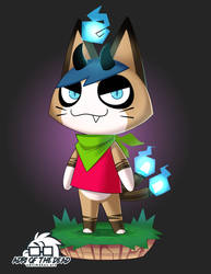Throwback Thursday Redraw - Animal Crossing by AdriOfTheDead