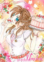 SPECIAL RAFFLE:::Strawberry Cake::: by oONorchenOo