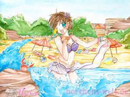 Wonderful Beach Day by oONorchenOo