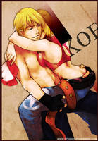terry bogard and blue mary by pu