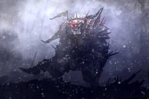 Ork Boss by Zen-Master