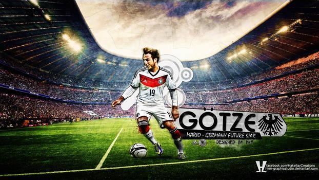 Mario Gotze Hd Wallpaper by HkM-GraphicStudio