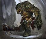LOTRO: Cave Troll by Gorrem