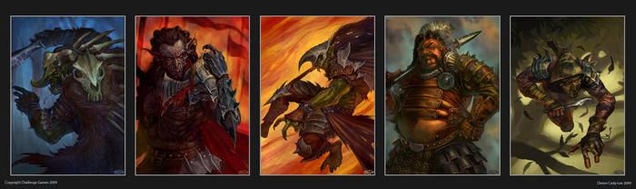 Warstorm Cards by Gorrem