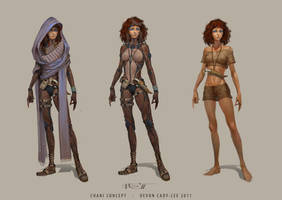 Dune - Chani costumes by Gorrem