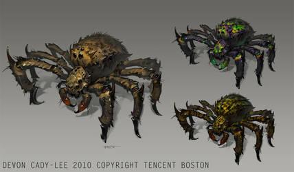 Spider Variants by Gorrem