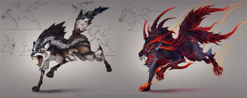 Wolf Variants by Gorrem