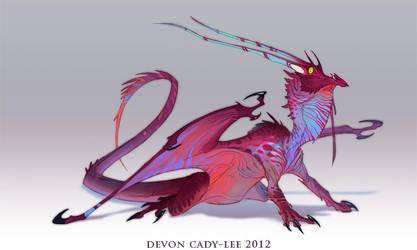 Dragon Sketch by Gorrem