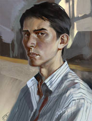 Selfportrait1 by Gorrem