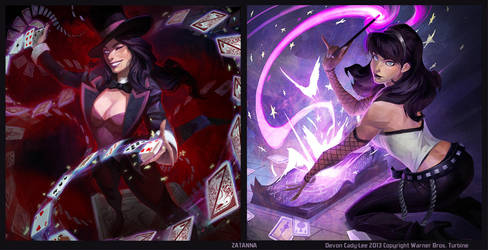 Infinite Crisis - Zatanna Splashes by Gorrem
