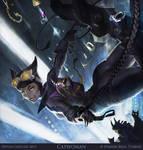 Infinite Crisis - Catwoman Splash by Gorrem