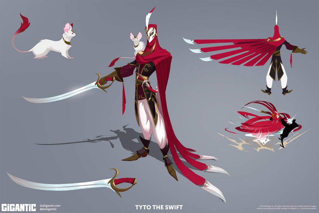 GIGANTIC - Tyto Concept art by Gorrem