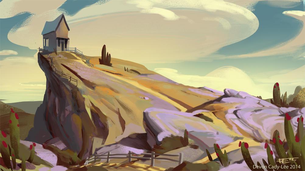 Desert Home sketch by Gorrem