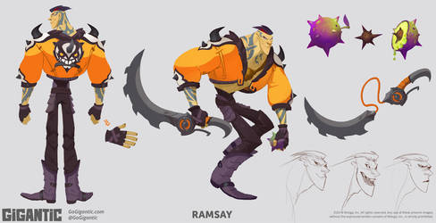 GIGANTIC - Ramsay by Gorrem