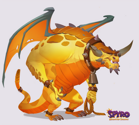 Spyro Reignited Trilogy: Peacekeeper Boris by Gorrem