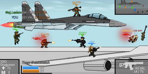 Strike Force Heroes x Metal Slug by Gir1010