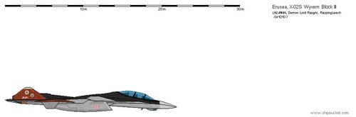 FD Scale(Ace Combat):Erusean X-02S Wyvern by Gir1010