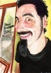 Happy B-Day Serj Tankian by Shamaanita