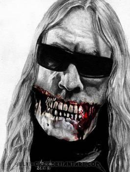 Pain.Murder.Art. Jeff Hanneman by Shamaanita