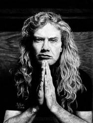 Dave Mustaine by Shamaanita