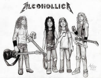 AlcohollicA by Shamaanita