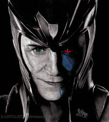Loki: The God of Mischief by Shamaanita