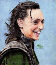 Loki The Trickster by Shamaanita