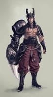 Guille-chinese-warrior by MoonlightOrange