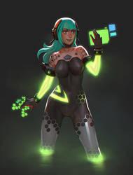 Nvidia senpai - illustration by MoonlightOrange