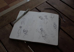 Wii U - sketches by MoonlightOrange