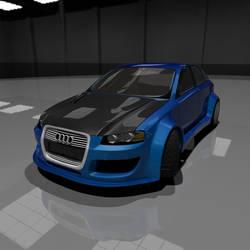 Audi A3 3D - WIP 8 by ssportcars